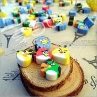 NEW Bird Eraser/ Novelty eraser / Rubber Eraser/ Cartoon Gifts Wholesale Children Student School Supplies Random Color