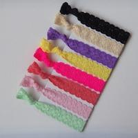 2014 fashion girls ponytail holder  new women lace elastic hairband  foe hair ties wholesale 100 pcs/lot   free  shipping