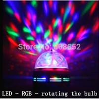 LED-RGB-Colorful - rotating the bulb-Auto change color