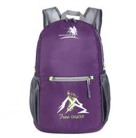 Free Shipping New Style Nylon Waterproof Folding Bag Leisure Sports Backpack