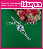 Free Shipping Top Quality Jewelry Accessory Of Bikini Rhinestone Connector  30pcs/lot