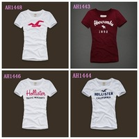 Hot sale Free shipping 2014 Fashion Good Quality 100% Cotton T Shirt Women Tops T-shirts Summer Casual Tee shirts for ladies