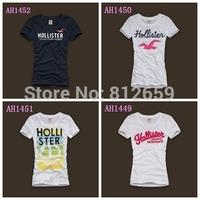 new 2014 women hollis & ter t shirts summer woman tops & tees casual ladies t shirt girl brand fashion comfortable model t-shirt