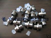 Free Shipping One Lot 100pcs 3mm Chrome Metal LED Bezel Holder Panel Display(China (Mainland))