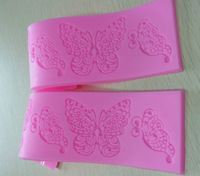 New&Hot!!! Classic Style 4 High Quality Sugar Lace Silicone Pad, Cake decoration mold, Free Shipping