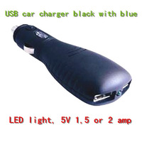 5V 1A Micro Usb LED  Hot Sale  Interior Accessories-Car Chargers  Mixed batch (multi-color)