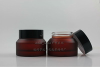 wholesale,50pieces/lot High quality 30g rose red cream jar,cosmetic jar,glass jar or cream container,eye cream jar