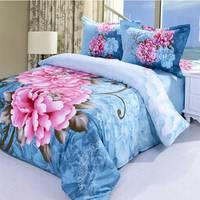 2014 New Luxurious Long Cotton Twill First Grade Export Type Queen 4 Pcs Bedding Sets/Bedclothes/Duvet Covers Bed Sheet. JS54