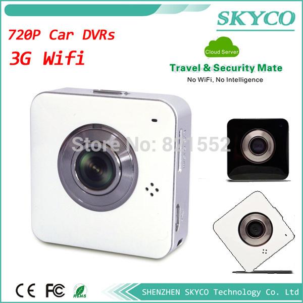 skyco mini wifi camera car DVR wireless 3g smart cloud VIDEO Recorder P2P wifi camera Two-way Voice 720P HIDDEN WIFI CAMERA(China (Mainland))