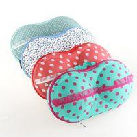 1pcs  Hot sale Net design underwear storage box covered bra finishing box panties socks travel portable storage bra bag