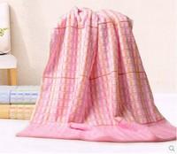 100% cotton bath towel single towel waste-absorbing comfortable antibiotic