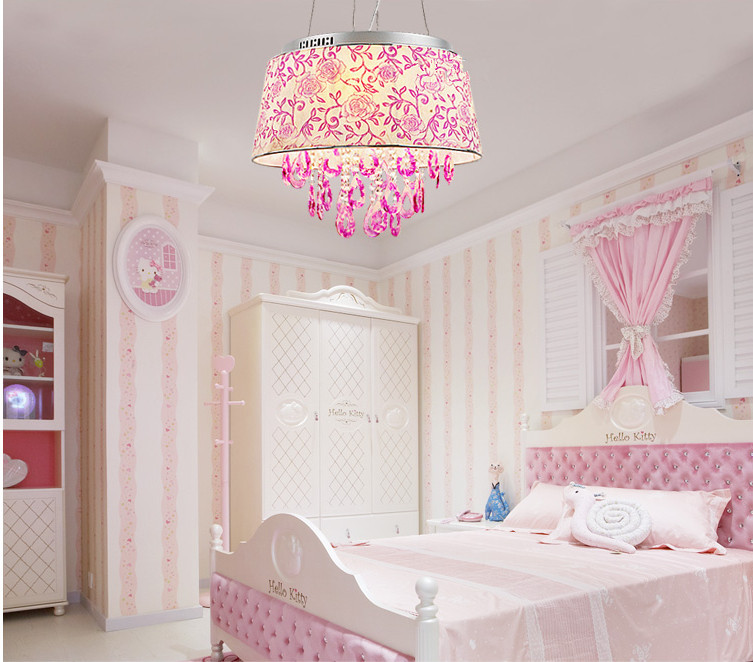 Compra ni as habitaci n de color rosa online al por mayor de china mayoristas de ni as for Kamer decoratie meisje