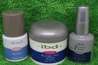 3pcs Acrylic Nail Art UV Gel nail saloon ibd Builder Gel Nail Clear Gel Bonder Primer Seal Strong Nail Art