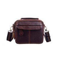 Free Shipping New 2014 Men Vintage Leather Messenger Bag, Casual Brand Shoulder Bag morer #504