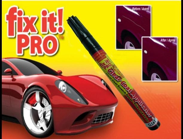 Portable Fix It Pro Clear Car Scratch Repair Remover Pen Simoniz clear coat applicator Wholesale Free shipping(China (Mainland))