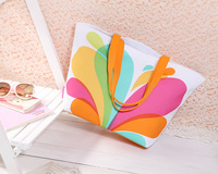 Free Shipping! 2014 summer new arrival brand women handbag fashion floral beach bag