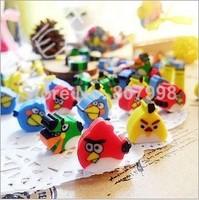 Bird Eraser/ Novelty eraser / Rubber Eraser/kids Gifts Wholesale Student School Supplies Random Color