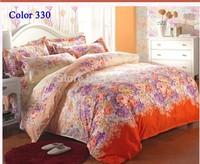 Beautiful flower Bedding set Duvet Cover Bedclothes 4pcs Twin Full Queen king Size Bedding Sets Duvet cover  bedspread  bedsheet