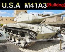 Free EMS U S Army Bulldog M41A3 Tank 1 16 Scales 2 4G Remote Control Simulation