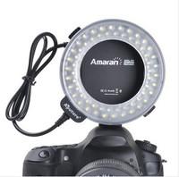 Aputure Amaran Halo AHL-C60 60 LED Macro Ring Flash Light for Canon DLSR Cameras 5D MARK II III 650D 550D 700D 7D 5D2 60D 600D