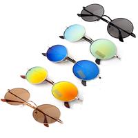2015 Brand Oculos De Sol Feminino John Lenon Retro Vintage Sunglasses Woman Round Lentes Gafas De Sol Men Fashion Gafas De Sol