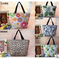 2014 Hot selling New Fashion women messenger bag women nylon flower bags women casual canvas bags