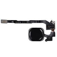 Black Home Button Flex Ribbon Cable Touch ID Sensor Assembly For iPhone 5S
