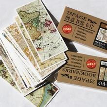 $5 off per $25, (1 Lot=25 Sheets) DIY Scrapbooking Paper Bookmarks Set Vintage Maps Message Postcards Wedding Souvenirs(China (Mainland))