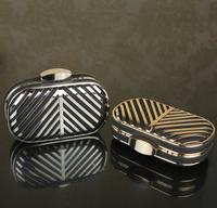 free shipping 2014  evening clutch bags women's handbag  gold chain small box bag B18655