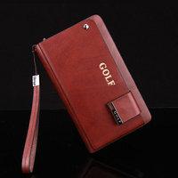 Hot sale!! Golf New Fashion Genuine Leather Business Men Clutch Bag Wallet Men Handbag free shipping
