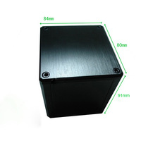 Aluminum Vintage Output Transformer Protect Cover enclosure 84*80*91mm  1PC