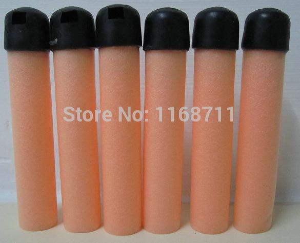 50PCS Toy Gun Bullet NERF soft Darts Round Head For Hasbro N-Strike Children toys(China (Mainland))