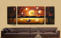 Modern Abstract hand-paint Art Oil Painting Wall Decor canvas (with framed)A426