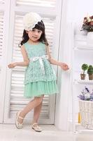trendy girl dress princess for girl of  kid dress for summer wear clothing princess dress for girl