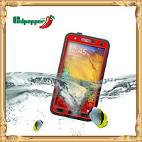 High quality waterproof case for samsung gaaxy note3