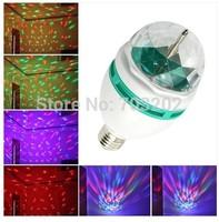 3w e27  LED bombillas led rotating bulb lighting RGB 3w color change led bulb