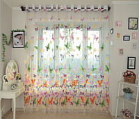 Free Shipping Rustic romantic curtain window screening customize finished products balcony new arrival