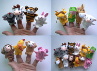 Chinese zodiac animal refers to accidentally plush toys refers to accidentally finger accidentally baby animals, 12pcs/lot