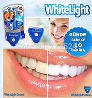 2pc/lot , retail packing,2015 new UV Light Technology White Light Dental Teeth Care Teeth Whiten Perfect Smile As Seen As On TV