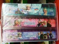 2880pcs/Lot Free Shipping !2015 Fashon Elsa  Princess Straight Rulers 15cm Cartoon Plastic Children Ruler Gift A3295 Wholesale