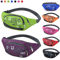 2014 New 7 Color High Quality Nylon Outdoor Travelling Waterproof Belt Waist Bag Fanny Pack Hiking Climbing