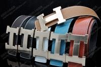 2014 new trend brand designer belts for men women genuine leather belt Men's belts free shipping