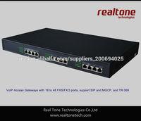 Asterisk gateway trunk gateway 48FXO port made in China cheap half concorrent calls