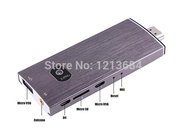 GK525 Miracast Android TV Box Quad Core RK3188 1.6GHz 2G/8G HDMI WiFi IPTV Skype 2.0MP Camera Mic Media Player Smart TV Stick(China (Mainland))