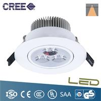 4PCS White Shell 3*3W LED Ceiling Light Recessed Spot light AC85-265v led high power 2 year warranty for home