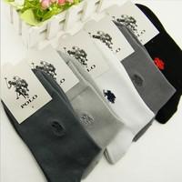 2015 PROMOTION Fashion gentlemen Casual socks/High quality Men's sports socks(20pcs=10pairs/lot),Mix black/white/gray/dark gray