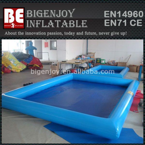 Grandes piscinas infláveis quadrados para adultos e crianças(China (Mainland))
