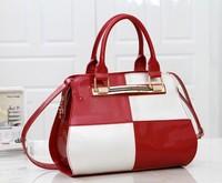 European and American fashion patent leather handbag women messenger bags women leather handbags