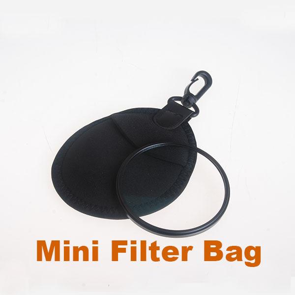 SLR Camera lens Filter Bags Mini Filter Bag Portable Lens Filter Protection Bag(China (Mainland))