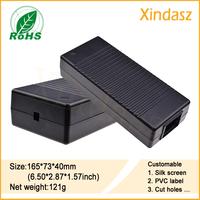 165*73*40mm plastic pcb enclosures  instrument plastic enclosure china plastic box